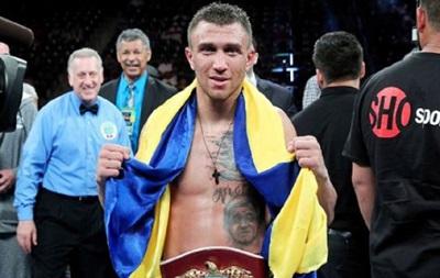 Василий Ломаченко: Я всегда буду выходить с украинским флагом