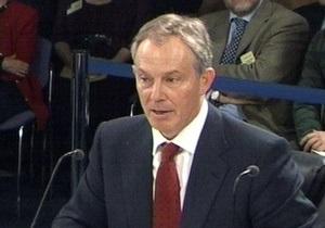 Блэр: Моя канцелярия не приукрашивала досье по Ираку