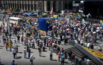 На Майдане проходит Вече: онлайн-трансляция