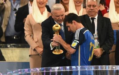 Месси не заслужил приз лучшему футболисту ЧМ-2014 - Марадона