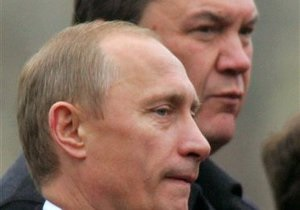 Янукович - Путин - Газета: Янукович и Путин могут встретиться в феврале