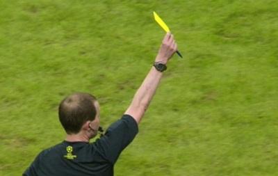 Желтые карточки в клубных турнирах UEFA будут сгорать после четвертьфиналов