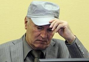 Ратко Младич почувствовал недомогание во время суда