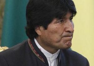 США читают почту высшего руководства Боливии - президент Моралес