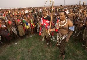 Одна из жен короля Свазиленда изменила ему с министром юстиции