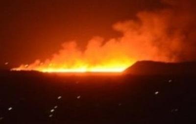 Под Донецком горит коксохимический завод – соцсети