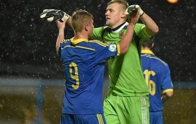 Сборная Украины U-19 на чемпионате Европы вырвала победу у Болгарии