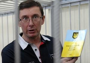 Луценко считает, что он не обязан доказывать свою невиновность
