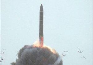 В России испытали прототип новой баллистической ракеты