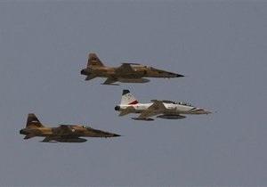 Вблизи Бушера потерпел крушение истребитель ВВС Ирана