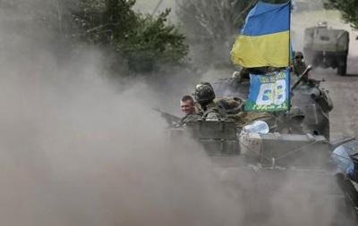 В районе Первомайска идут бои