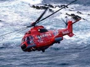 В Северном море приводнился вертолет