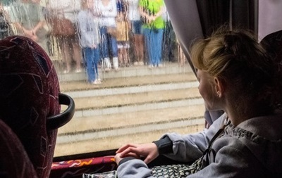 В ДонОГА опровергают обстрел автобуса, увозившего сирот из Донецка