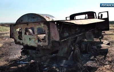 В сети появились кадры обстрелянных позиций украинских силовиков