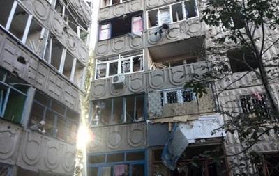 АТО в Первомайске: фото обстреляного города