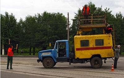 В Луганске нет света и воды, не работает мобильная связь - горсовет