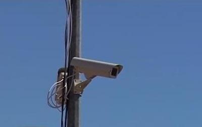 Блокпосты на въезде в Бердянск оборудовали видеокамерами