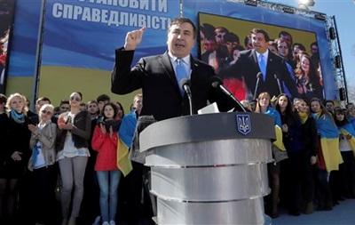 Саакашвили прочтет во Львове лекцию о реформах
