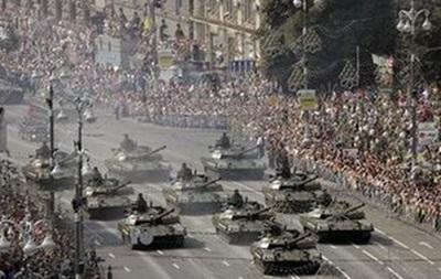 На День Независимости в Киеве и Одессе состоятся военные парады