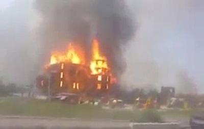 В Горловке в результате обстрела сгорел Благовещенский храм
