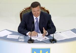 Янукович подписал закон о рынке газа
