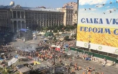 Майдановцы пообещали освободить Крещатик для проезда транспорта