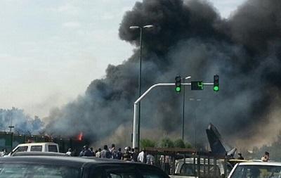 Возле аэропорта Тегерана разбился пассажирский самолет