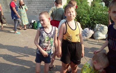 Похищенных детей-инвалидов вернули в Украину