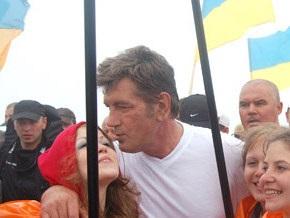 Губернатор Прикарпатья: Гуцулы не протестовали против восхождения Ющенко на Говерлу