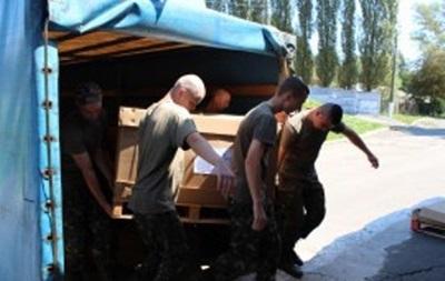 Великобритания отправила в Украину партию военного снаряжения