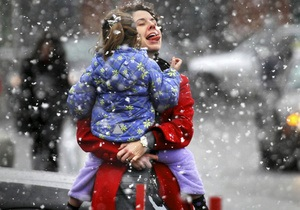 Погода в Украине - Украинцы встретят Рождественский сочельник с морозной погодой