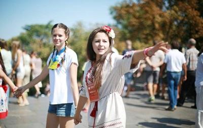 В центре Одессы люди в вышиванках создадут живую цепь