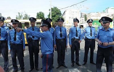 Охранять порядок на сегодняшнем футбольном матче в Киеве будут почти полтысячи милиционеров