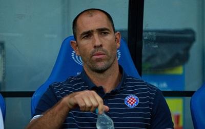 Тренер Хайдука отказался оценивать действия Артема Милевского