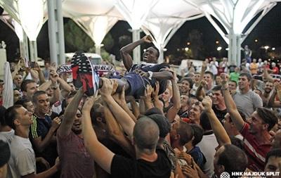 Хайдук после поражения в Киеве дома встретили как героев (фото)