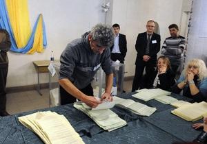 На нескольких округах в Киеве затягивается подсчет голосов. Оппозиция трубит о фальсификациях
