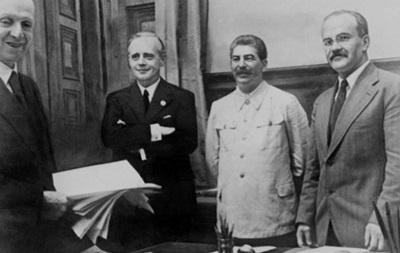 Історик щодо пакту Молотова-Ріббентропа: Гітлер і Сталін страшенно поспішали