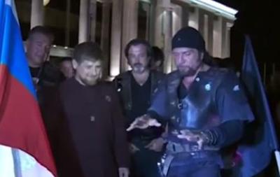 Кадыров вступил в байкерский клуб Ночные волки