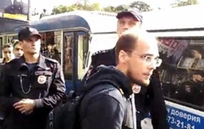 Журналист Эхо Москвы заявил о своем избиении на акции в поддержку Украины