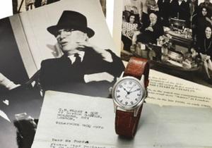 Уникальные часы Чарли Чаплина приобрел украинский коллекционер