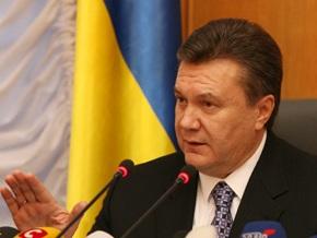 Янукович предлагает  для каждой отрасли выписать рецепты, как ее лечить