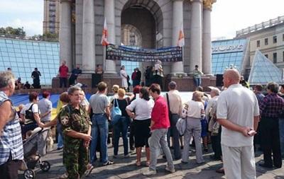 На Майдане проходит очередное Народное вече
