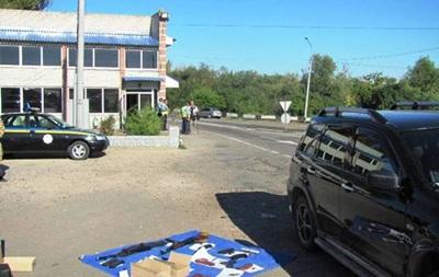 На Херсонщине задержали вооруженных  ополченцев  ДНР