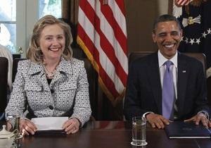 СМИ: Клинтон не будет участвовать в избирательной кампании Обамы