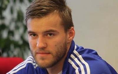 Андрей Ярмоленко приболел перед матчем со сборной Молдовы