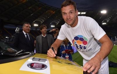 Андрей Шевченко отличился дублем в благотворительном матче