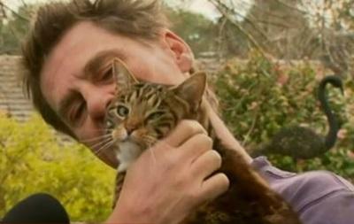 Австралия: кошка спасла хозяина при пожаре