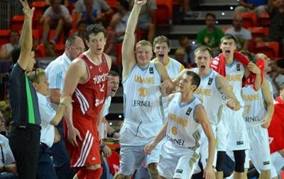 Большой успех: Украина в трудной борьбе обыграла Турцию на чемпионате мира по баскетболу
