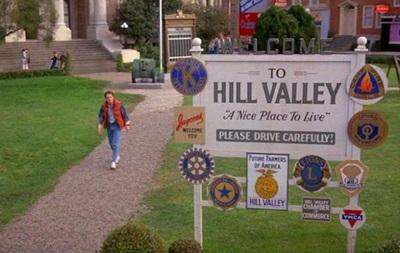 Город из фильма  Назад в будущее  воссоздадут в Лос-Анджелесе
