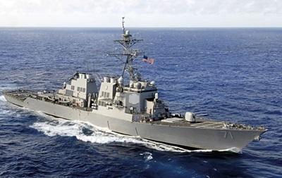 В Черное море вошел эсминец ВМС США Ross